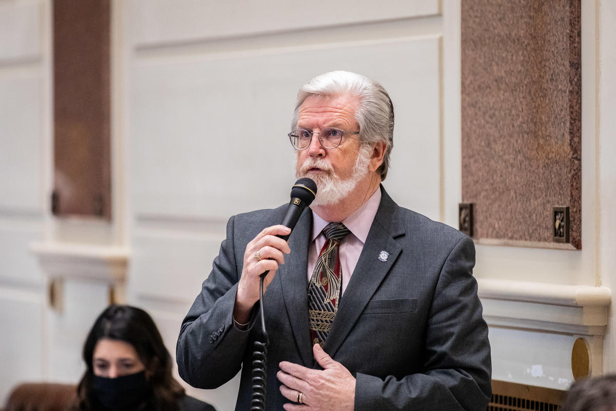 Sen. Roger Thompson, R-Okemah, won Senate approval Wednesday for a bill allowing restaurants, grocery, convenience and liquor stores to continue curbside sales and deliveries of alcohol.