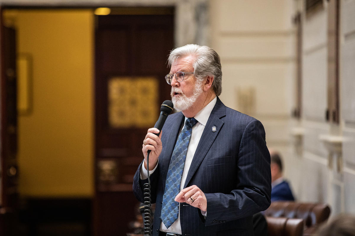 Sen. Roger Thompson, R-Okemah, won Senate approval Friday for a measure giving state retirees a cost-of-living-adjustment (COLA).