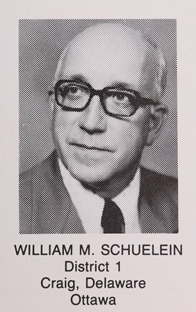 "Sen. William ""Bill"" Schueliein 1987"